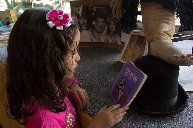 Sala de lectura Mamá Rosa. Foto Milangela Galea