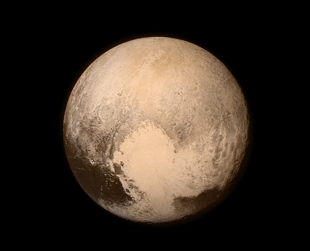 Imagen captada por New Horizons y difundida por la Nasa este 14 de julio en la mañana