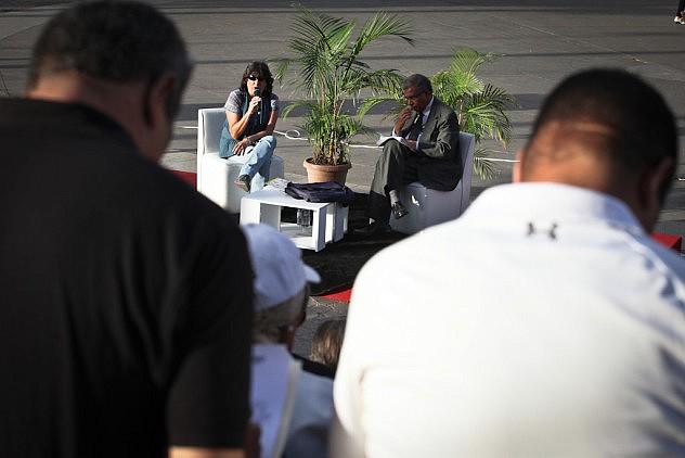 Operaciones Psicologicas Contra Venezuela. Los ponentes son el psiquiatra Erick Rodriguez y la psicologa Ovilia Suarez 27_08_2015 fotos Miguel Moya (22)