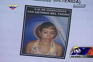 Erika Moncada Higuita (29 años, capturada)