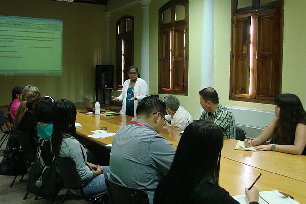 Reunión mensual del Comité Venezolano contra el Tráfico Ilícito de Bienes Culturales