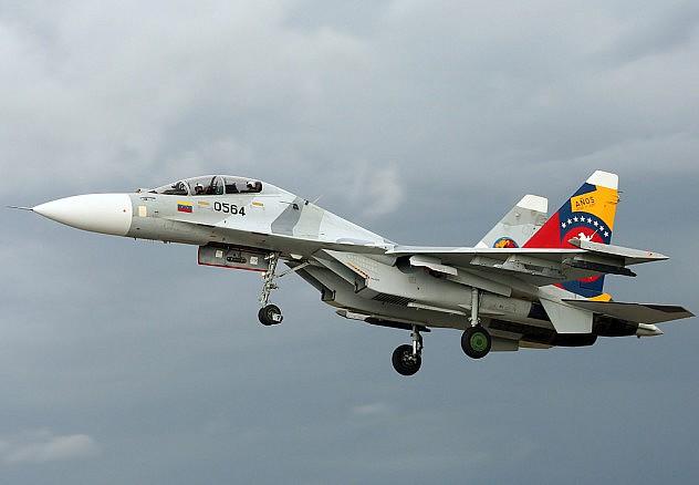 Sukhoi Su-30mk2 (Foto: André Austin Du-Pont Rocha / Referencial)