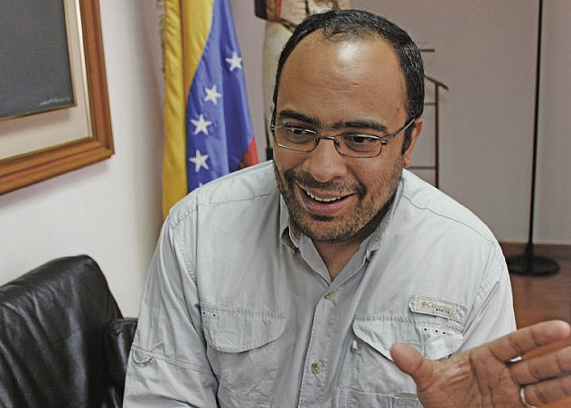 José Jesús Gómez, presidente del IAEM. Foto: Mayrín Moreno, TodasAdentro