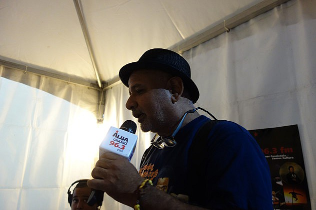 Carlos Julio Ramírez, El Oso. Foto: Randolph Borges