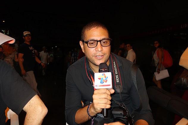 Williams Padrón (Ven.), programador musical. Foto: Randolph Borges