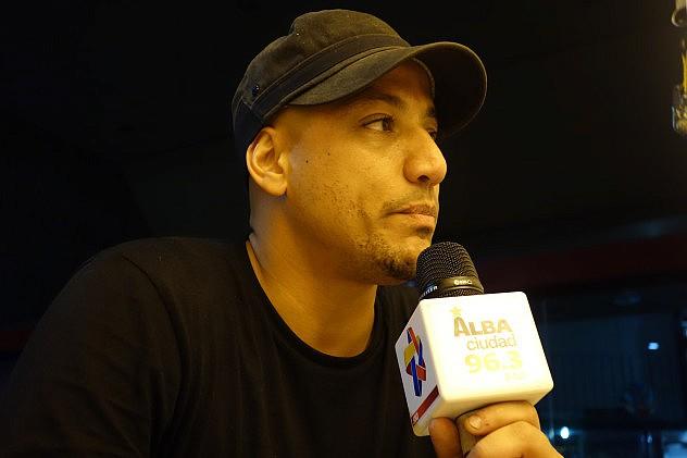 Marcos Espinoza, de Afrocódigos. Foto: Randolph Borges