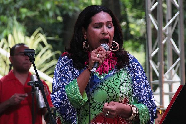 Daisy Gutiérrez - Música Venezolana. Foto: Milangela Galea