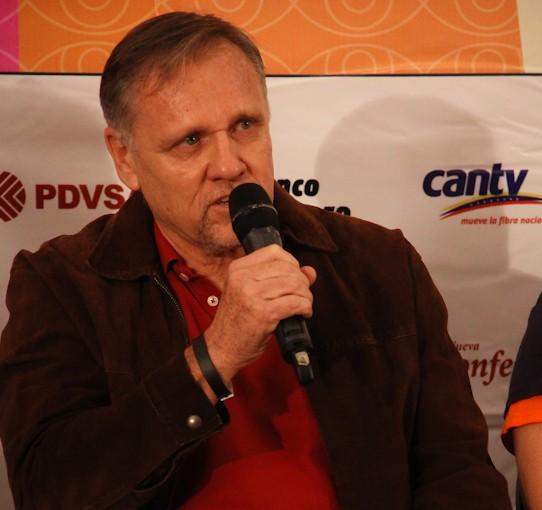 Festival de Cine Margarita 2015. Pascal Schenk. Foto: Milangela Galea