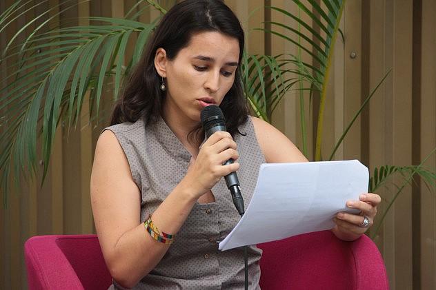 Viceministra Giordana García. Foto Milangela Galea