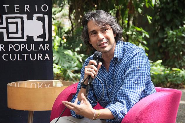 Alfredo Caldera, presidente de la Compañía Nacional de Teatro. Foto Milangela Galea