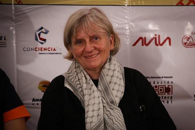 FestMargarita 2015. Lilian Blaser Homenajeada. Foto: Milangela Galea