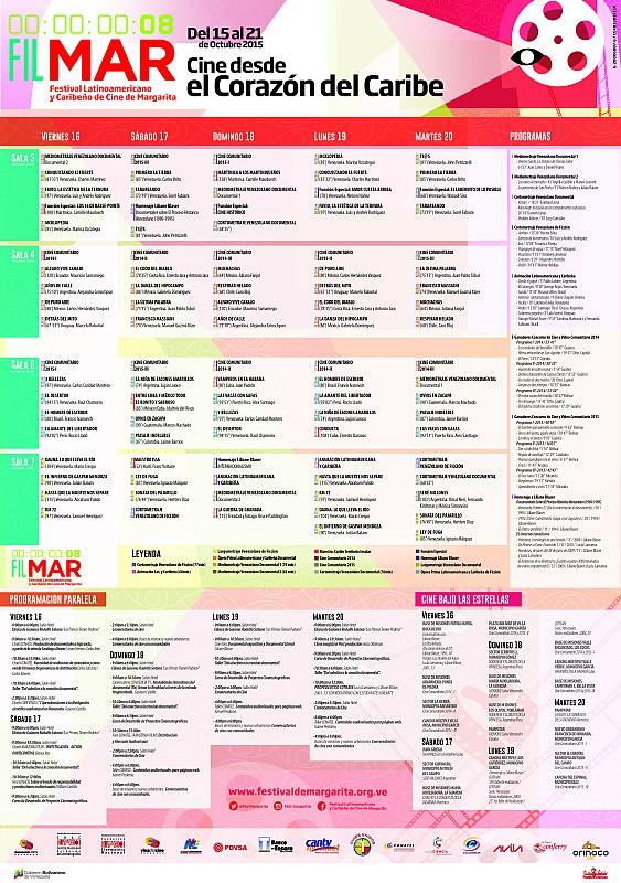 Programación del Festival de Margarita 2015