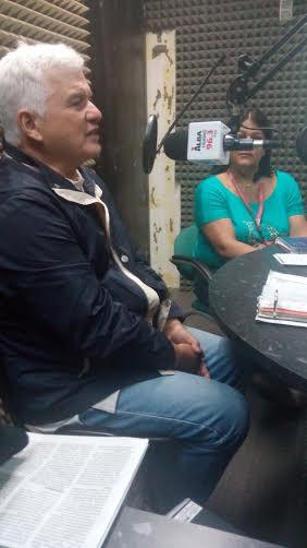 Freddy Sánchez, vocero por los jubilados del Mppc. Foto: Karen Arencibia