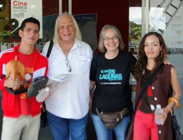 F1- Soledad Vásquez y Alfredo Crespo, ganadores de IV Festival