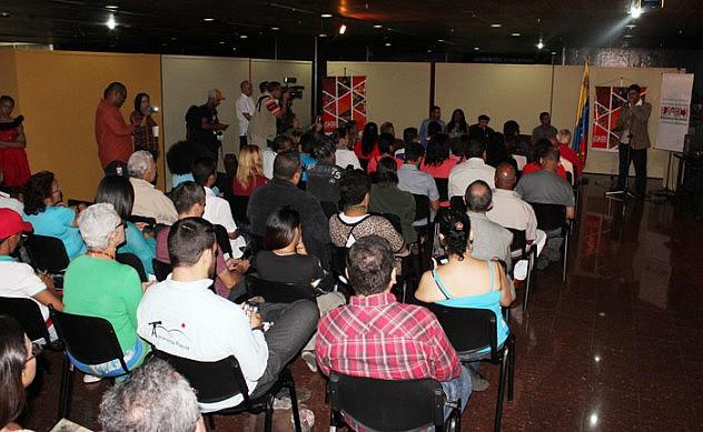 Inauguracion del Centro de Documentacion Ramon Tovar1