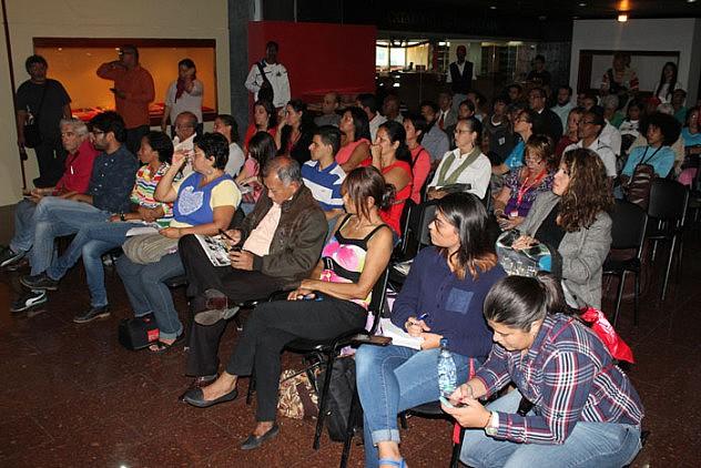 Inauguracion del Centro de Documentacion Ramon Tovar3