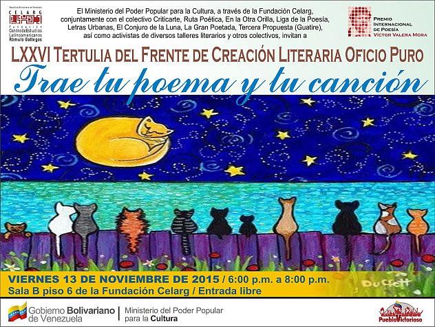 TERTULIA_LXXVI_Oficio_Puro-Trae_tu_poema_y_canción