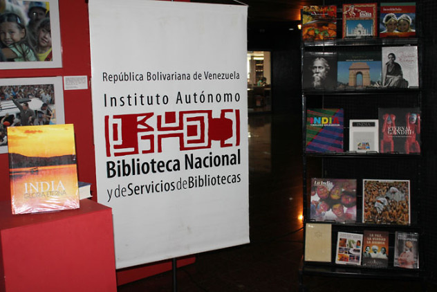 Donación de libros de la India a la BNV12