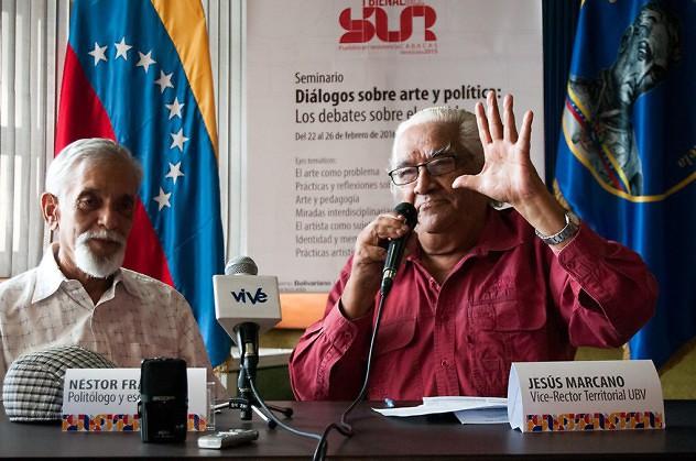 A la derecha, Luis Bigott (Foto: Iartes)