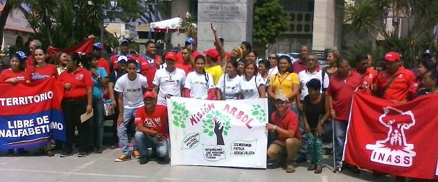F1- Misión Cultura Yaracuy estuvo presente en el acto de apoyo