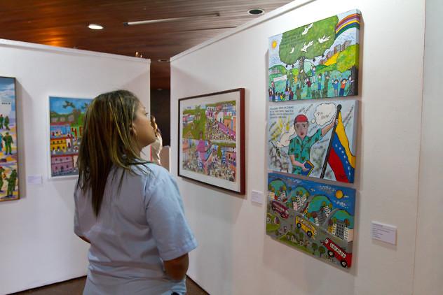 Inauguración-exposición-Chávez-en-el-arte-popular.-Biblioteca-Nacional-4-03-2016-Fotos-Freisy-González-13
