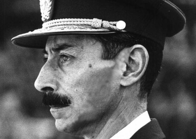 El dictador argentino Jorge Rafael Videla