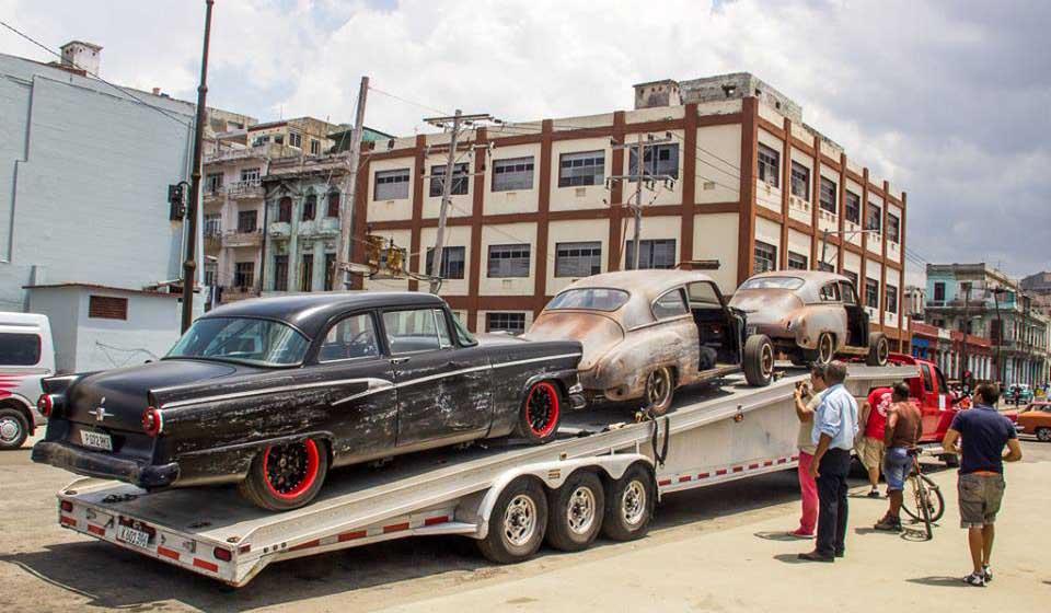 En Fotos Ruedan Rapido Y Furioso 8 En La Habana Alba Ciudad 96 3 Fm