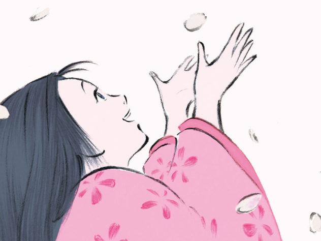 La princesa Kaguya, uno de los dos cuentos con los que Miyazaki dice adiós. Fotograma de la película.
