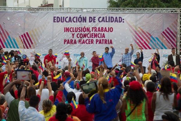 Presidente-Nicolas-Maduro-en-el-Congreso-de-la-Patria-Capitulo-Educacion