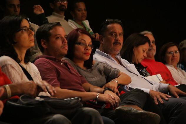 Red de Intelectuales y artistas en defensa de la Humanidad. Foto: Milangela Galea.