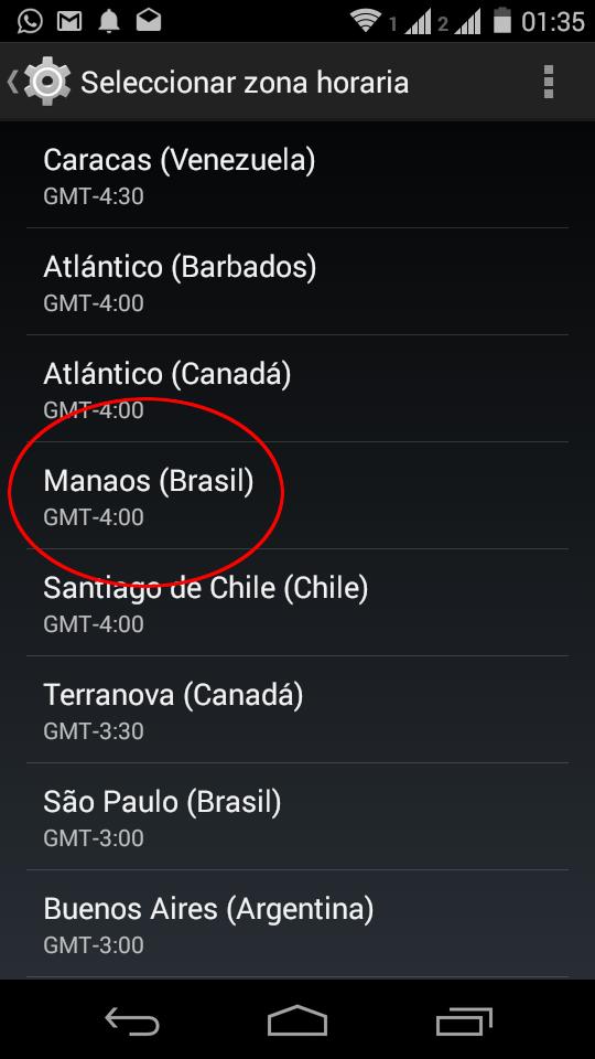 Qué Hacer Si Tu Celular O Tableta Android No Actualizó La Nueva Hora