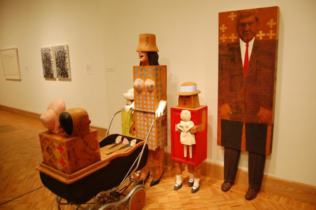 50 The Family by Marisol Escobar, 1963