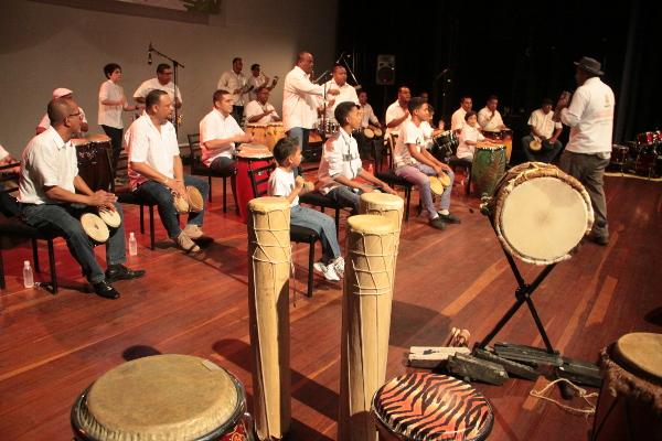 Festival-Internacional-de-Percusión-de-Barlovento-comenzó-este-miércoles-en-la-Casa-del-ARtista