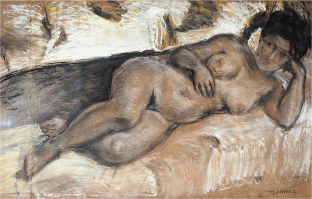 desnudo-acostado