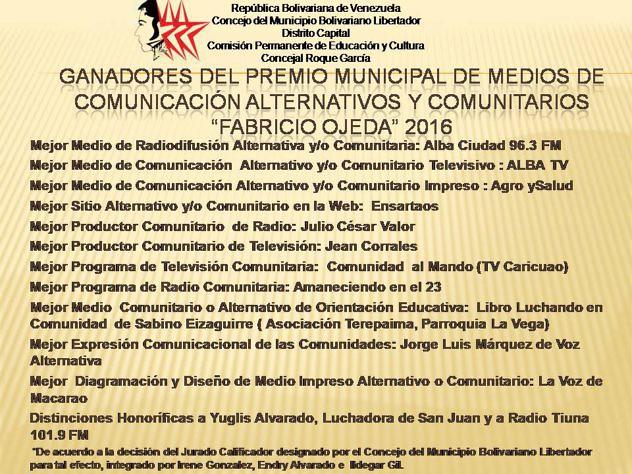 FO GANADORES DEL PREMIO MUNICIPAL DE PERIODISMO (1)