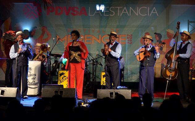 Festival del Merengue con Los Anta–os del Stadium/ Orquesta Nacionalista Venezolan'as   en PDVSA la Estancia. Maracaibo 24 de marzo de 2012 (Foto Jean Carlos Ramos / PDVSA )