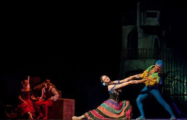 Don Quijote Claudia Olaiz y Andrés Villarroel