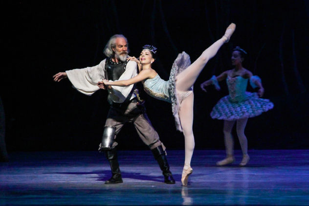 Don Quijote. Teatro Teresa Carreño. Foto: Milangela Galea