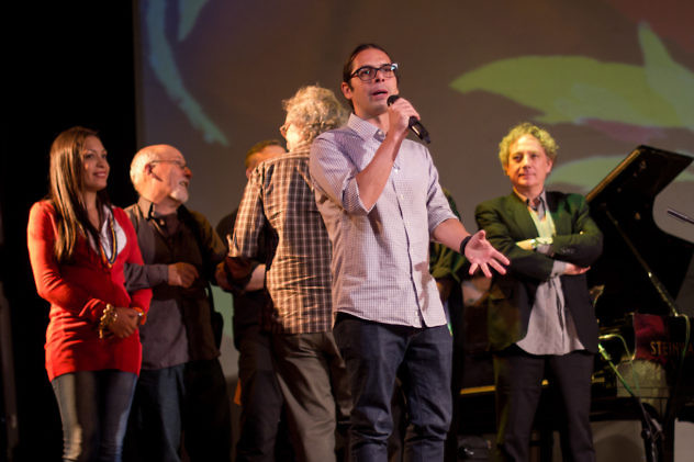 Clausura Festival Mundial de Poesía 2016. Foto: Homero Hernandez