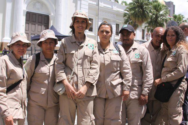 Mujeres Guardaparques de Inparques
