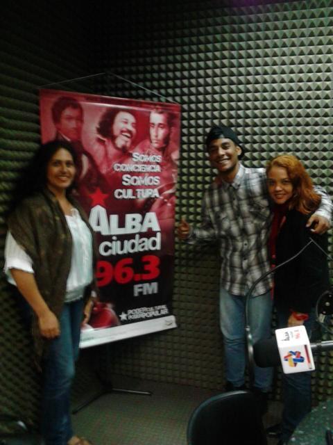 Gerónima Muñoz, Keiduin Hernádez y Lisdhe Ramos
