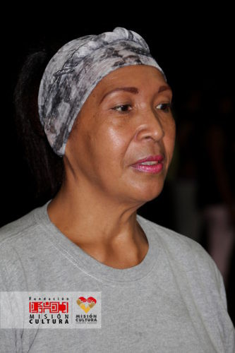 Moraima Rivas, animadora sociocultural de la parroquia Sucre