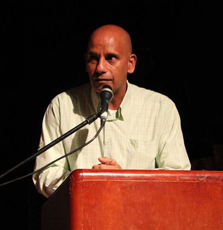Eduardo Matos, cultor y director artístico del espectáculo