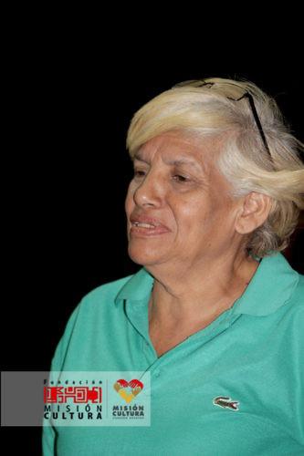 Mireya Yélamo, animadora sociocultural de la parroquia Coche