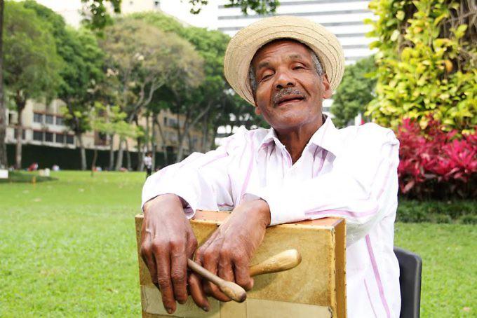 Entrevista a cultor Monico Marquez exponente de la musica tipica del oriente de VenezuelaFOTOGRAFIAS:LUIS NOGUERA