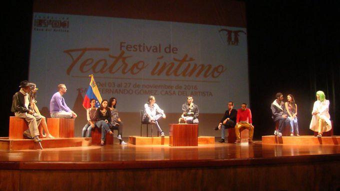Rueda de Prensa del Festival de Teatro Íntimo. Foto: Prensa FCA