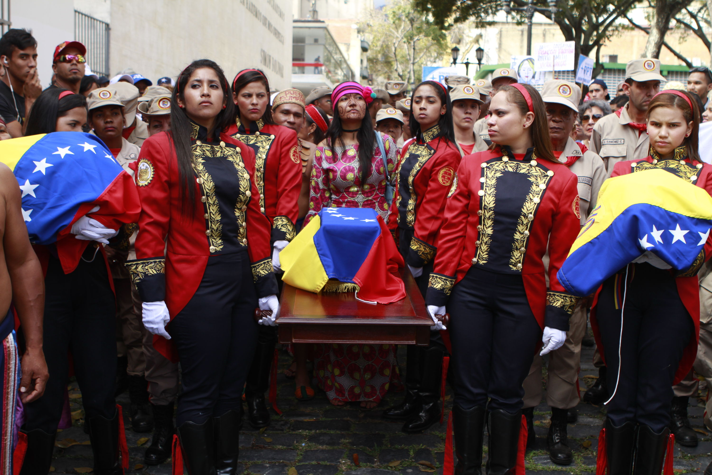 En Fotos Matea Hipólita Y Apacuana Reposan Este Martes En La Casa