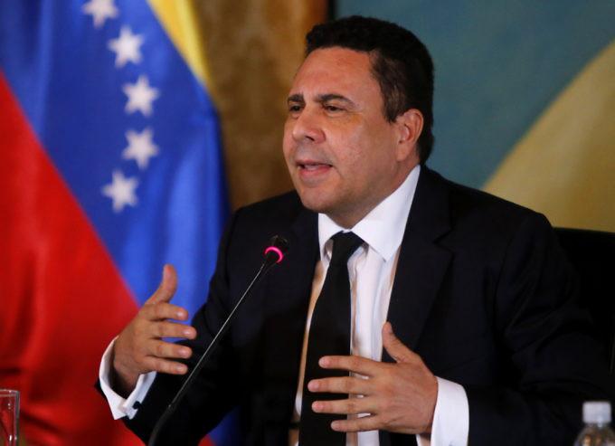 Canciller moncada deplora silencio de numerosos pa ses for Ministerio de relaciones interiores espana
