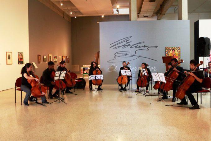 """El arte y la música brillaron en la inauguración de la exposición """"El  Libertador en el alma del creador popular"""" 8530ae6c57a"""